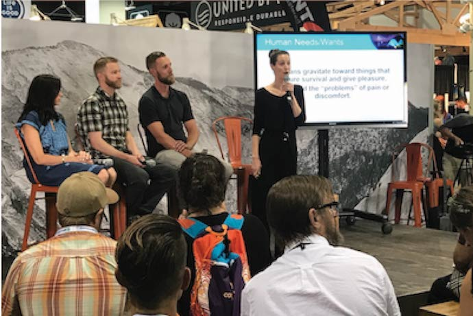 Faculty Give Crash Course in Product Design at Outdoor Retailer