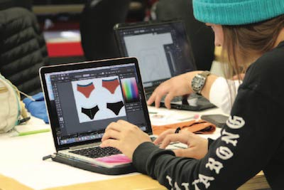 Students Design Innovative Swimwear with Local Company
